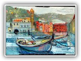 Boats at Cinque Terre